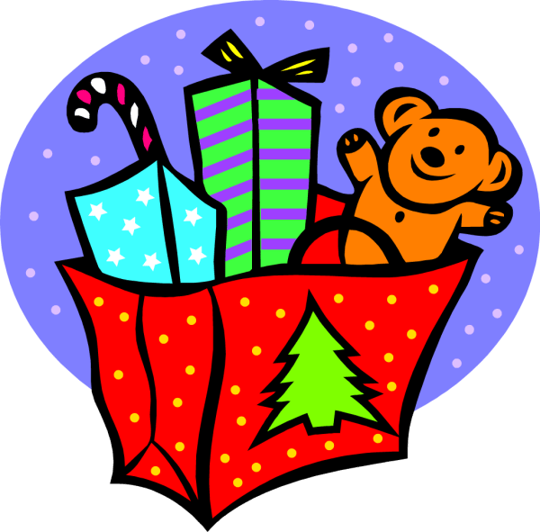 Christmas Toy Drive Clip Art