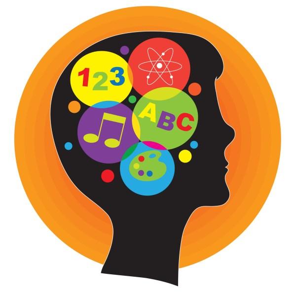 Brain Learning Clip Art