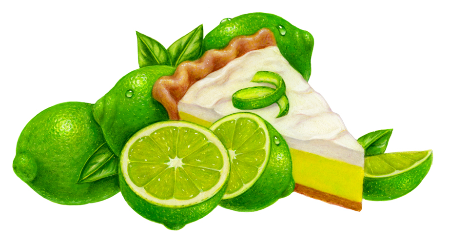 Image result for key lime pie clipart