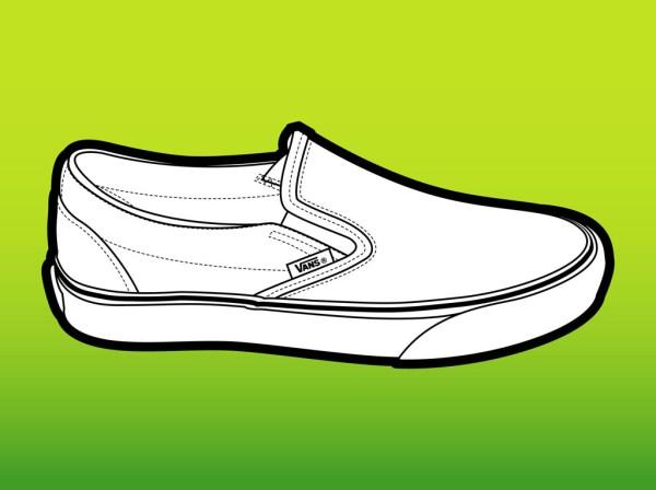 free vans shoes cliparts