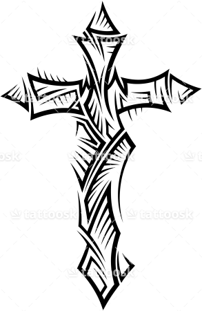Free Cross Tattoos PNG Transparent Images Download Free