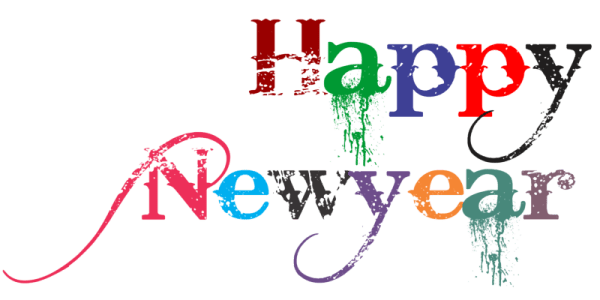 Free Happy New Year PNG Transparent Images Download Free