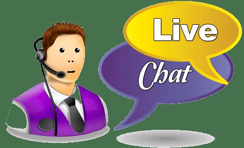 free live chat transparent
