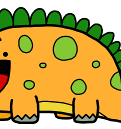 cute dinosaur clipart library free clipart images [ 2058 x 1250 Pixel ]