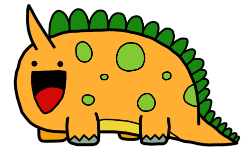 small resolution of cute dinosaur clipart library free clipart images