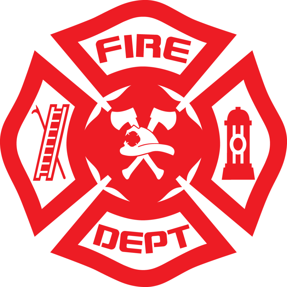 medium resolution of images for fire department logo vector