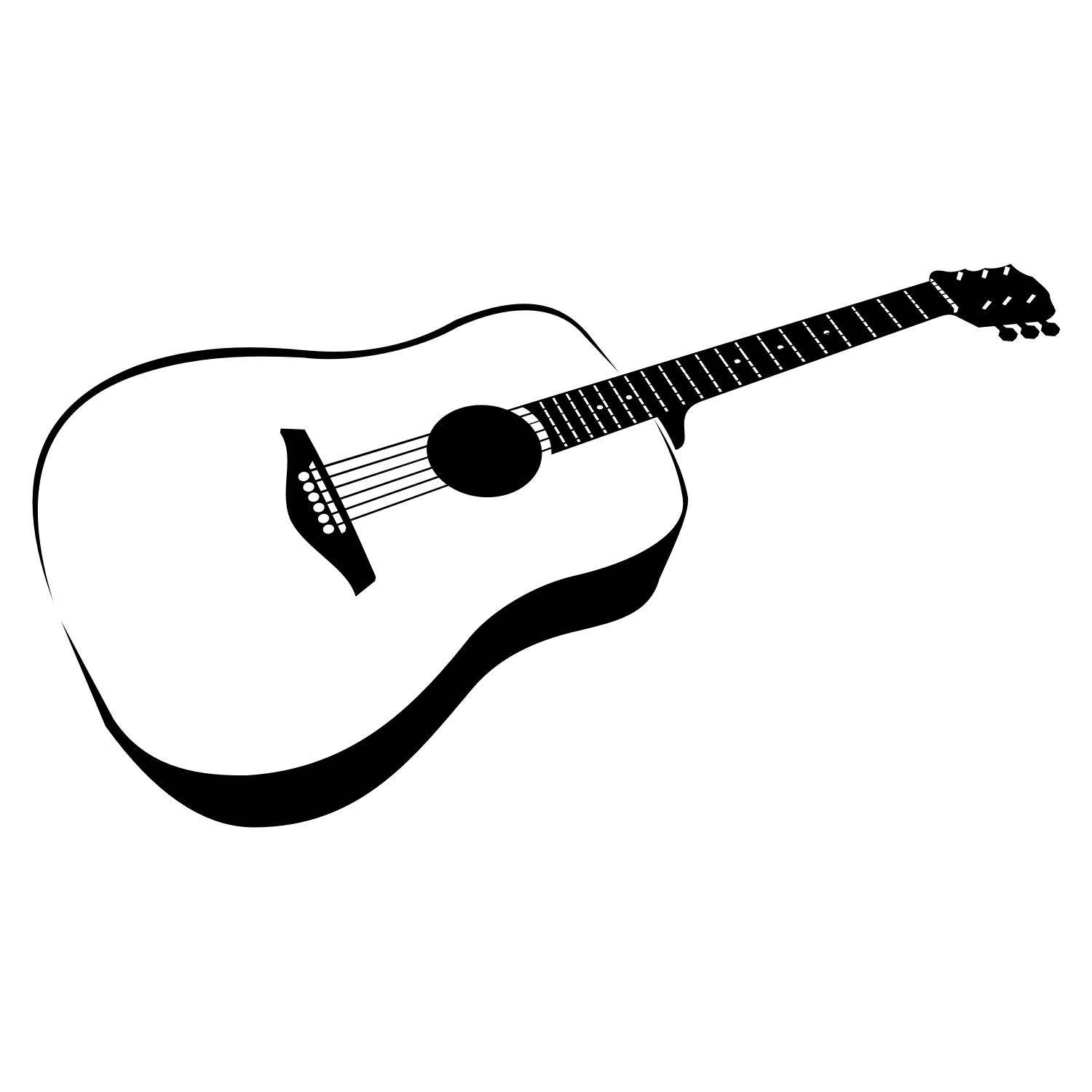 Vector For Free Use Guitar Vector