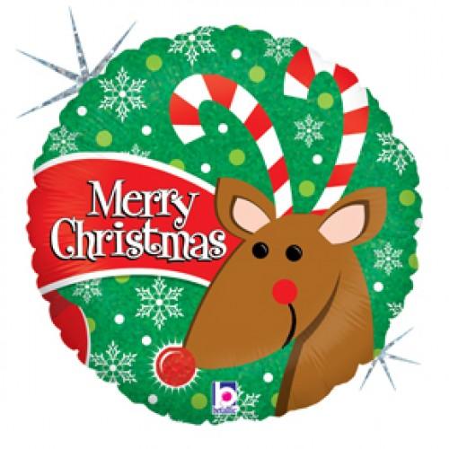 merry christmas reindeer free