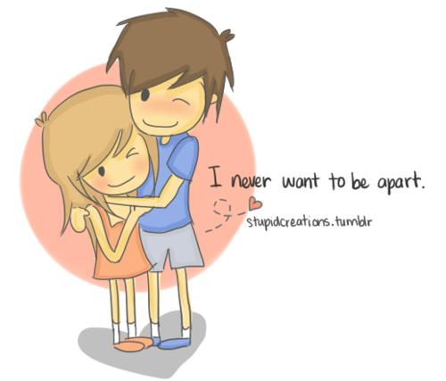 Best Cute Couple Cartoon Pic
