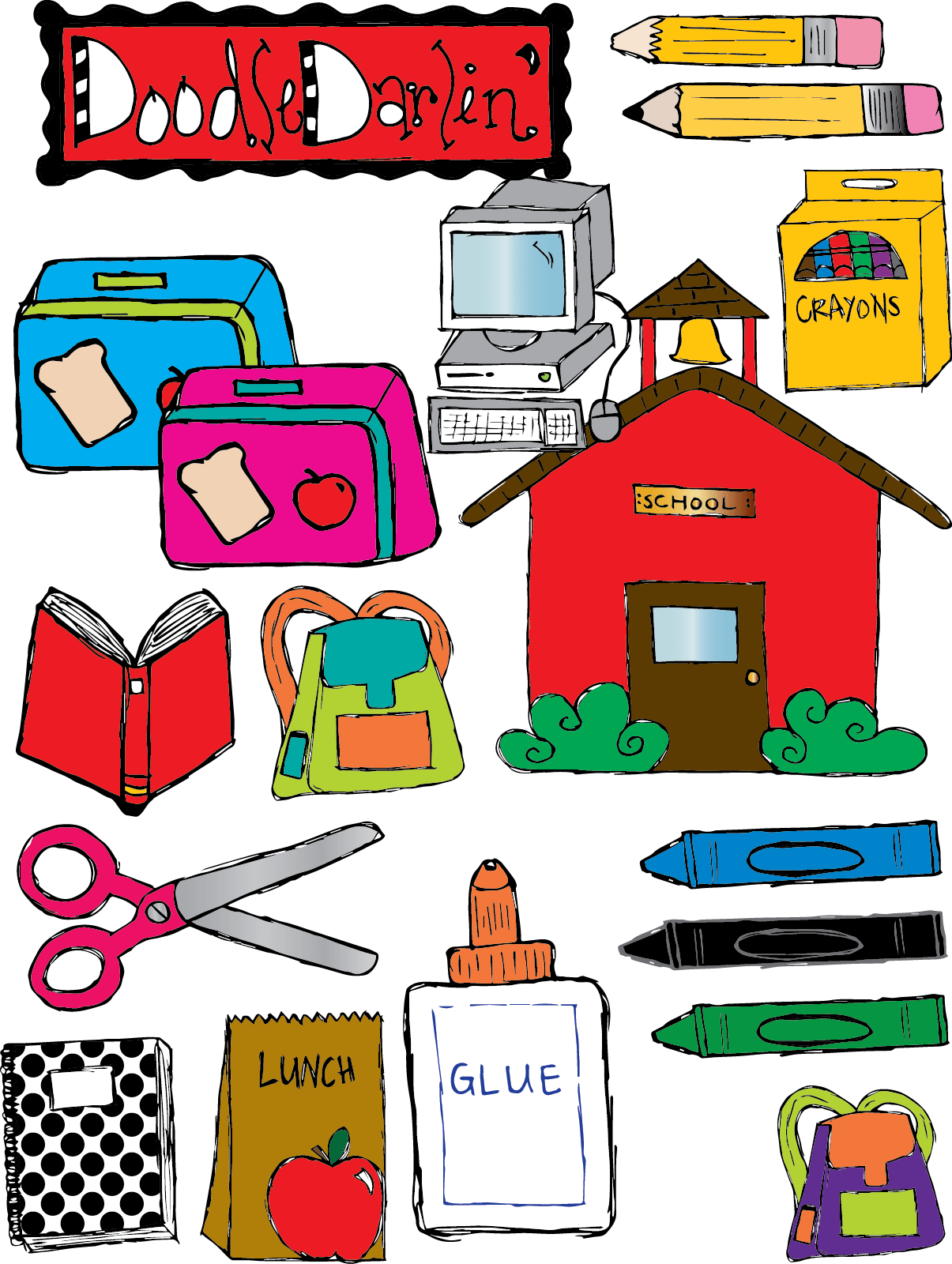 Free School Things Clipart Download Free Clip Art Free
