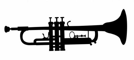 Trumpet vector image free download Free vector for free