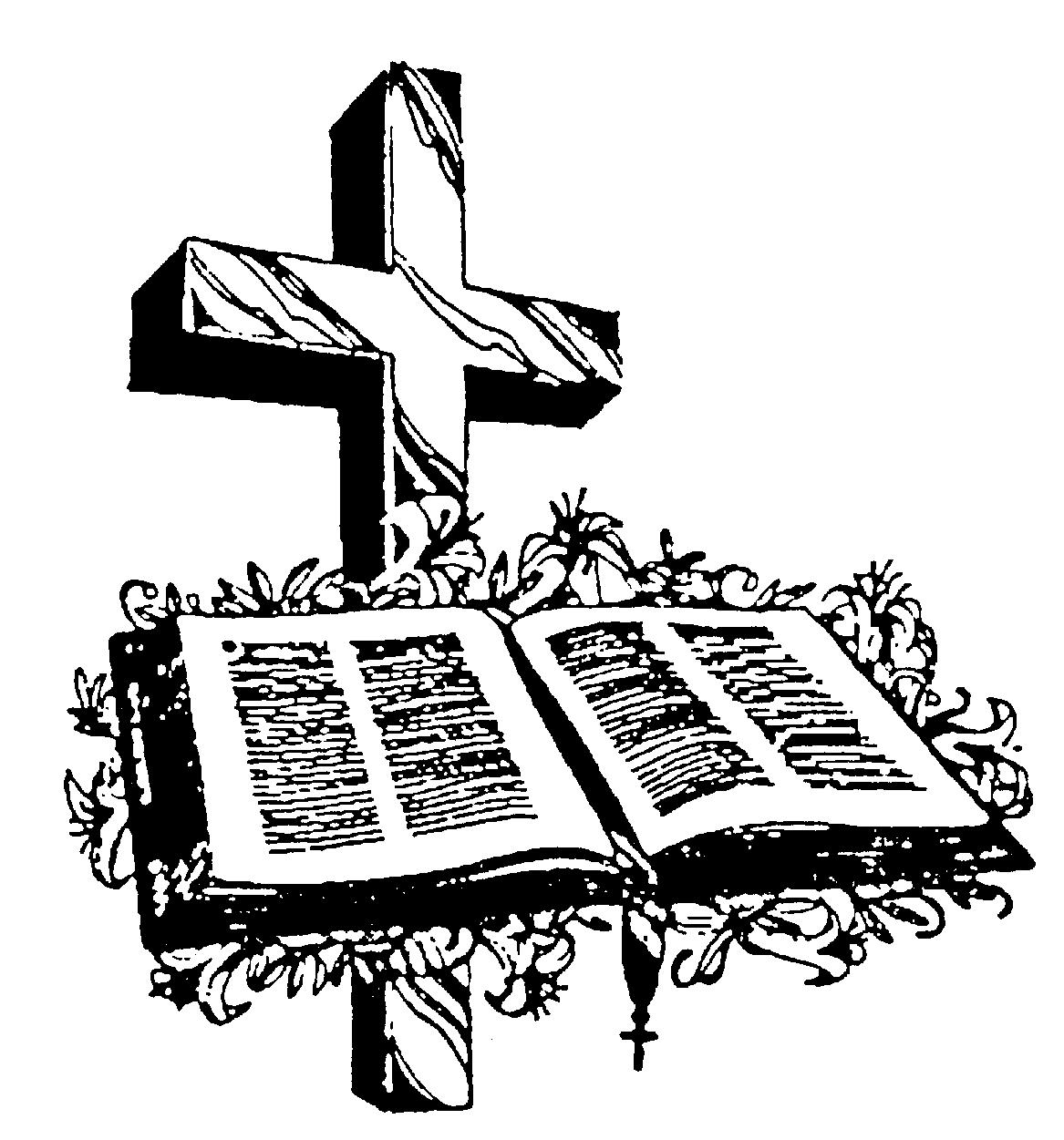 Free Cross And Bible Download Free Clip Art Free Clip
