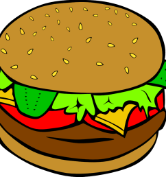 hamburger clipart clipart library free clipart images [ 1000 x 866 Pixel ]