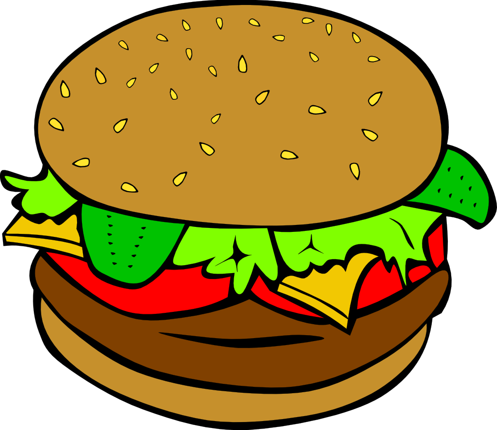 hight resolution of hamburger clipart clipart library free clipart images