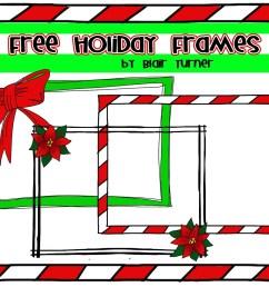 free christmas clip art borders frames www  [ 1600 x 1228 Pixel ]