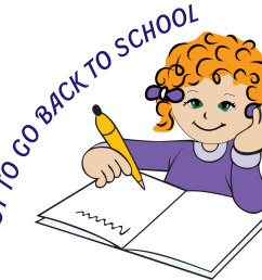 images for getting ready for school clipart [ 1294 x 1139 Pixel ]