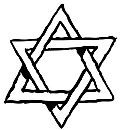 pictures star of david clipart library [ 1200 x 1301 Pixel ]