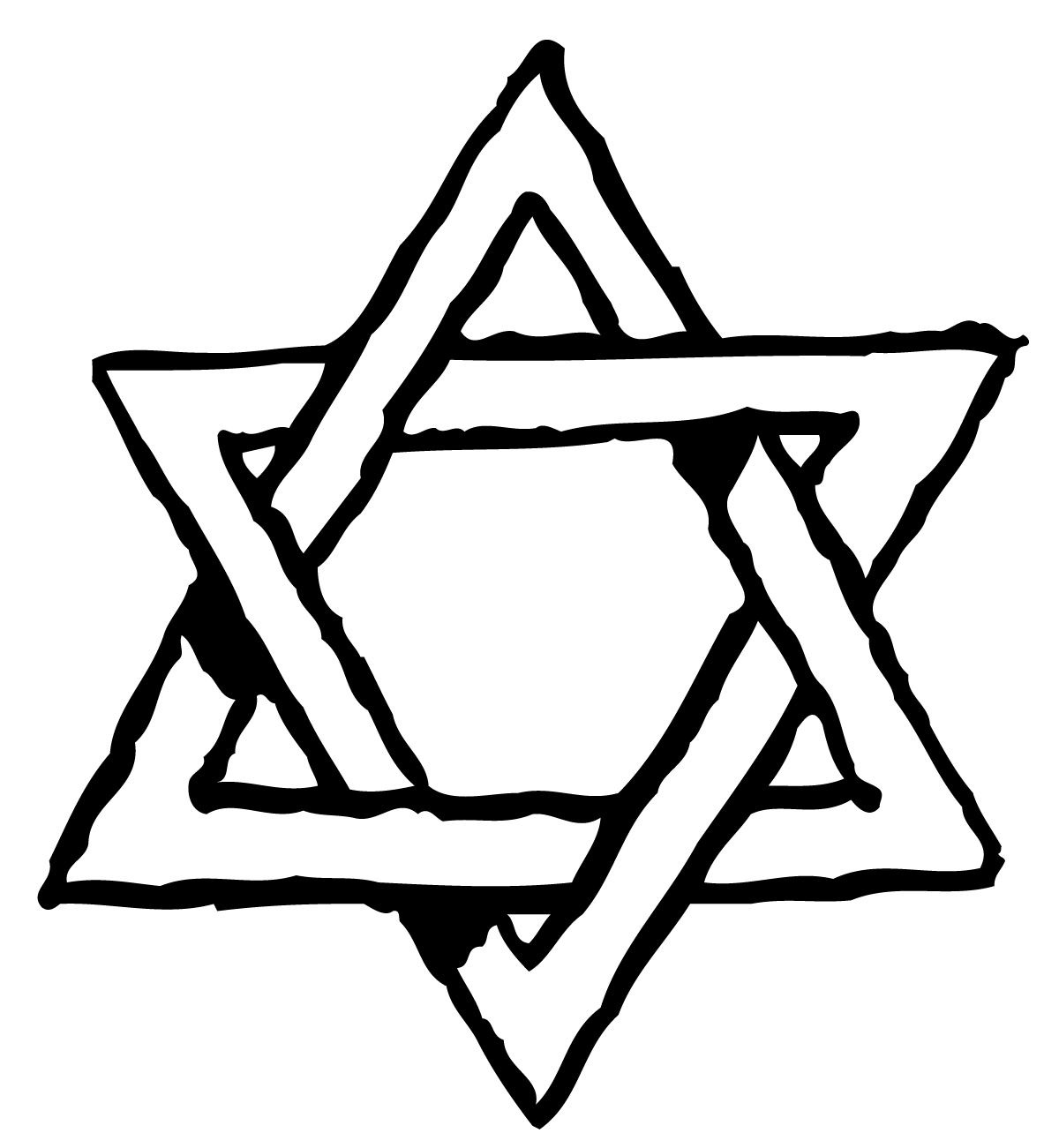 hight resolution of pictures star of david clipart library
