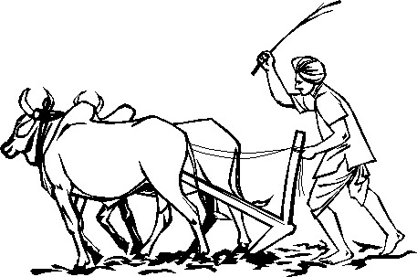 Free Indian Farmer Ploughing Clipart, Download Free Clip