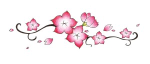 blossom cherry drawing sakura flower japanese flowers drawings blossoms easy stippling clipart getdrawings clip branch fui jiun drawn library related