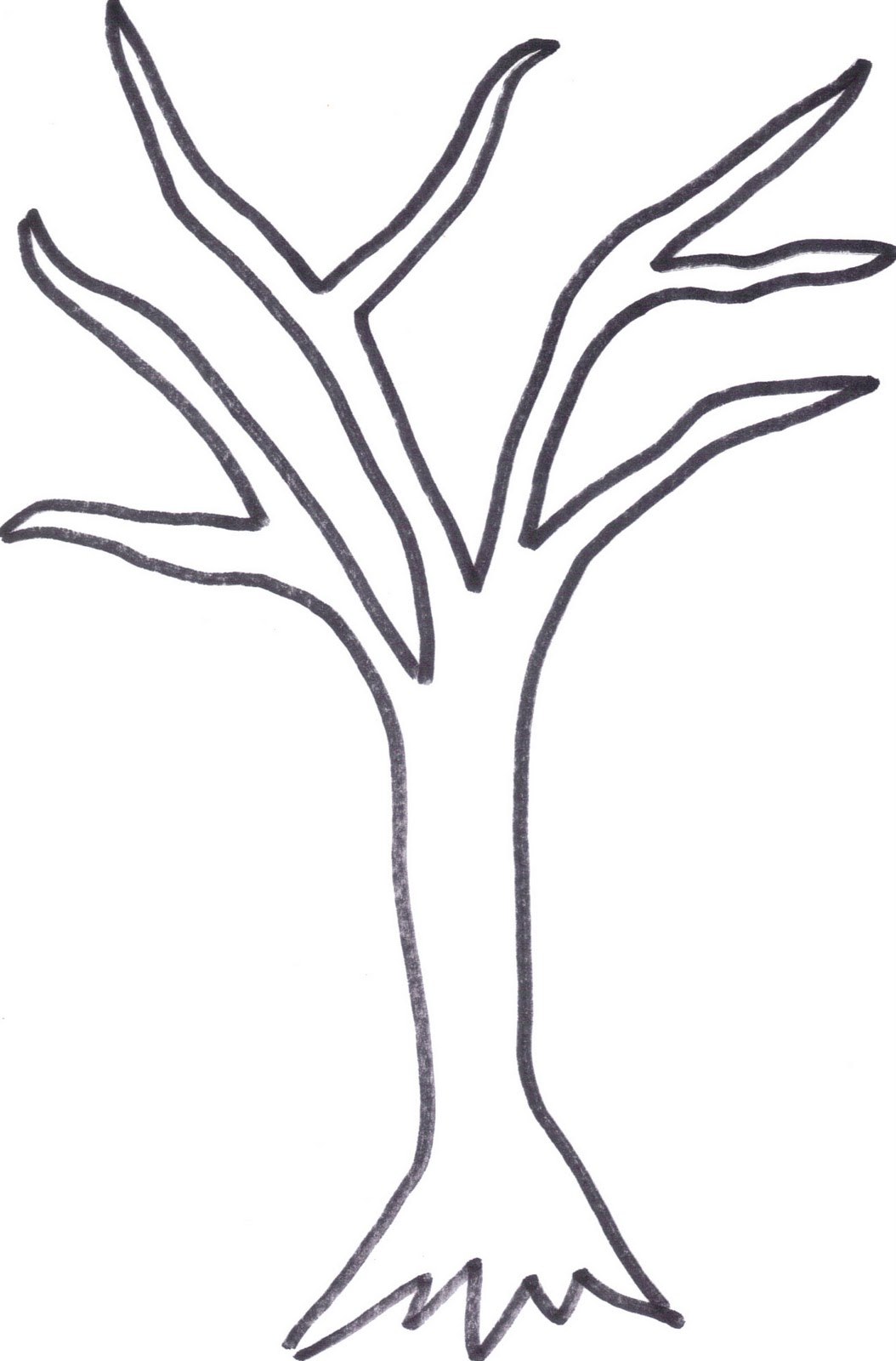 Free Tree Drawing Outline Download Free Clip Art Free