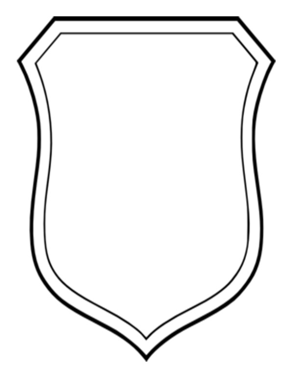 crest template free