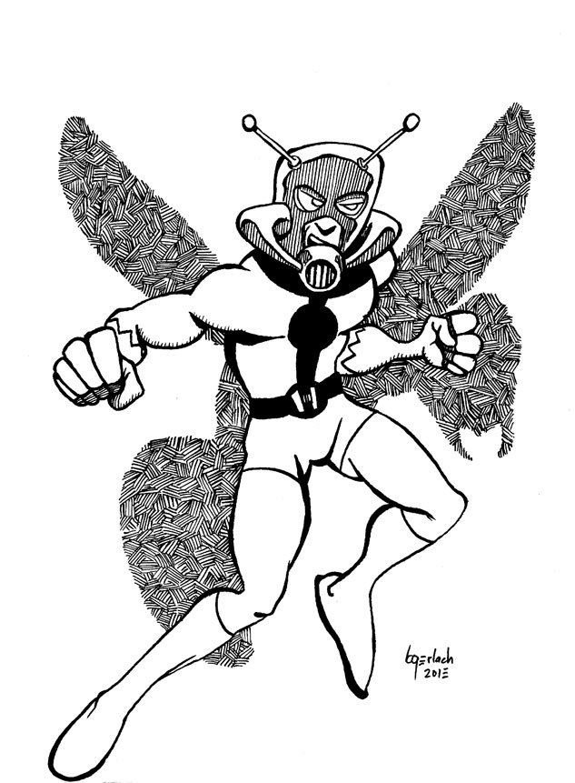 Tattooed Sky: Free Comic Book Day and Friday Ink: Ant-