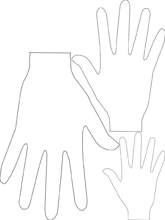 Free Hand Cut Out, Download Free Clip Art, Free Clip Art