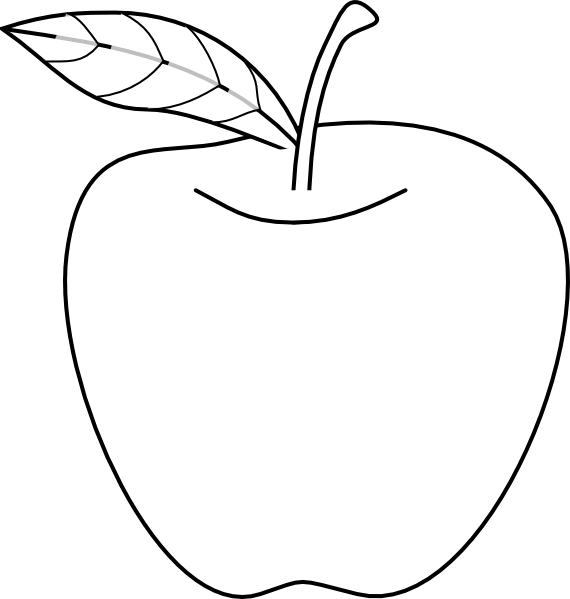 Free Apple Logo Outline, Download Free Clip Art, Free Clip