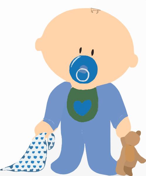 Baby Boy Clip Art - Royalty Free - GoGraph
