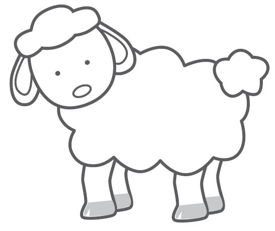 Free Sheep Outline, Download Free Clip Art, Free Clip Art