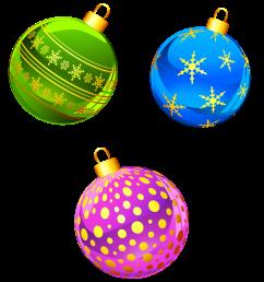 transparent christmas ornaments clipart [ 1580 x 1768 Pixel ]