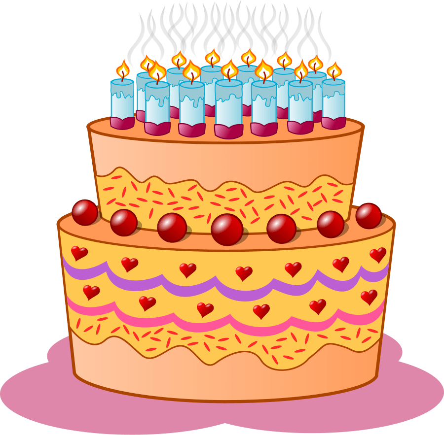 medium resolution of birthday cake svg vector file vector clip art svg file clipartsfree