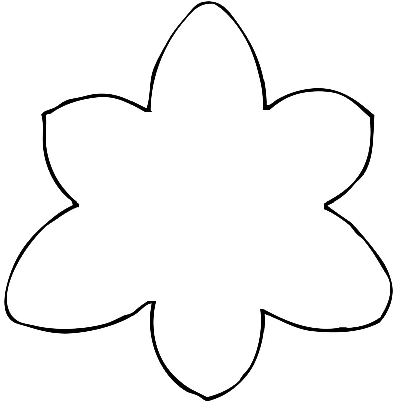 Free Flower Template Free Printable, Download Free Clip