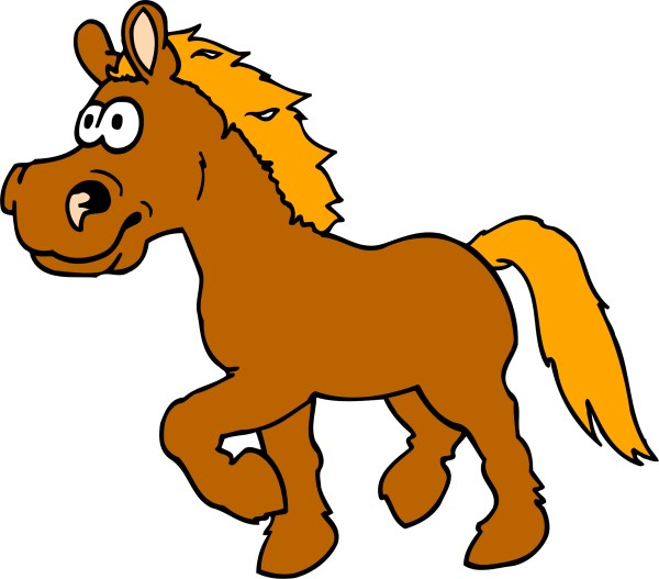 Cartoon Horse Clip Art