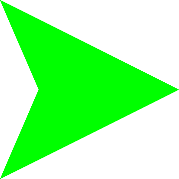 Image result for sideways green triangle transparent