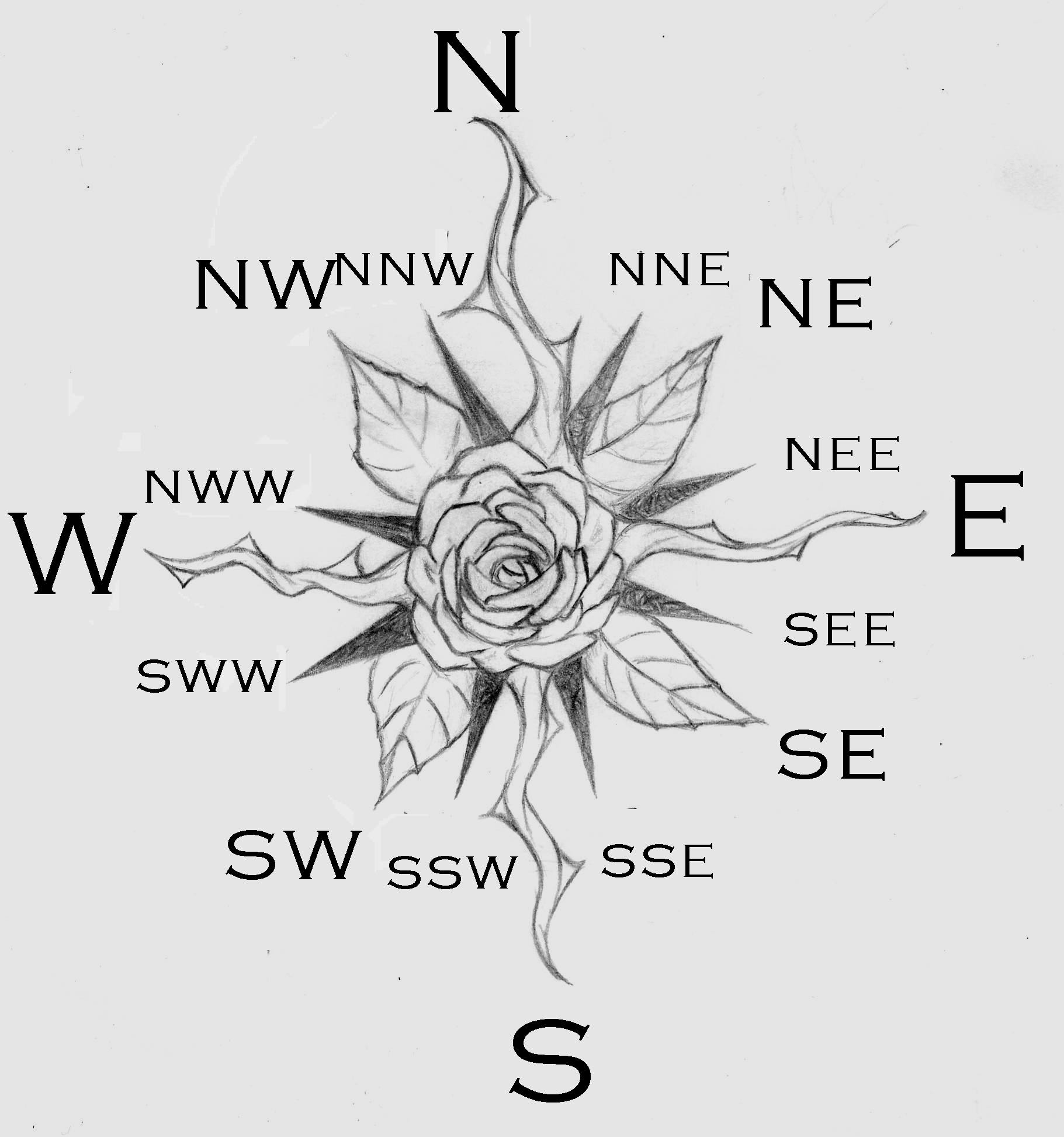 Free Rose Compass Drawing Download Free Clip Art Free Clip Art On Clipart Library
