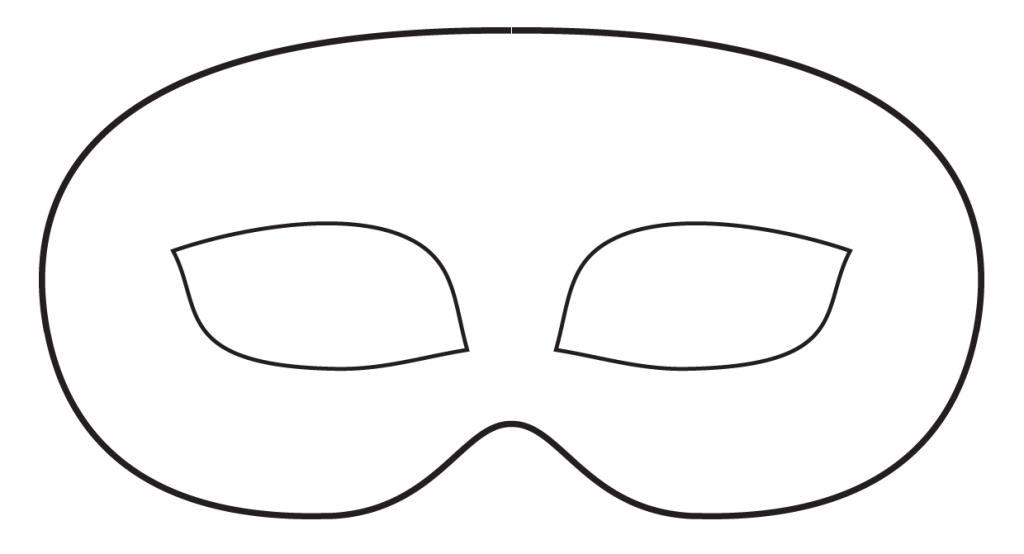 Free Masquerade Mask Stencil, Download Free Clip Art, Free