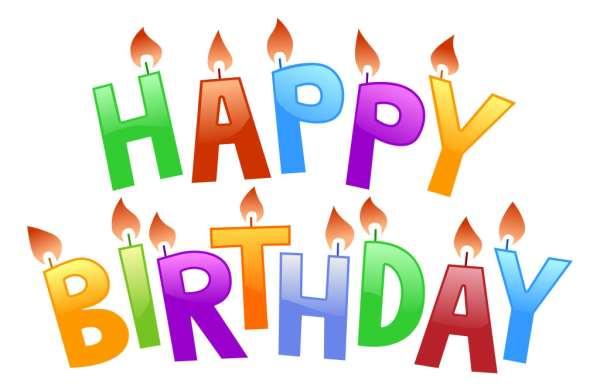 happy birthday free clip art
