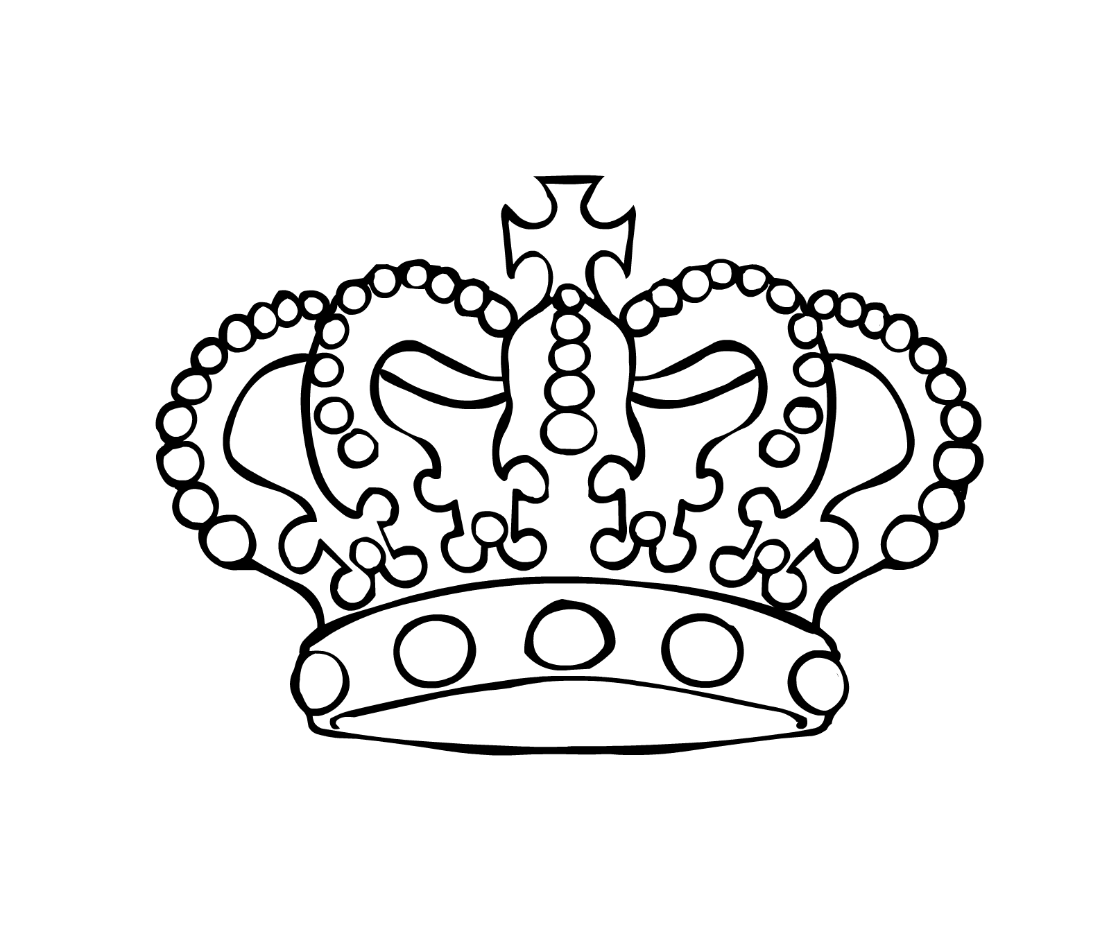 Free Crown Outline Download Free Clip Art Free Clip Art