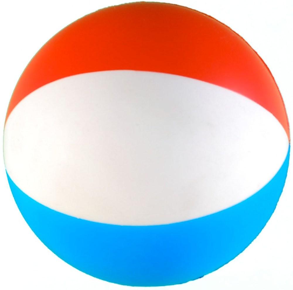 medium resolution of beach ball squeezie stress reliever custom printed beach ball