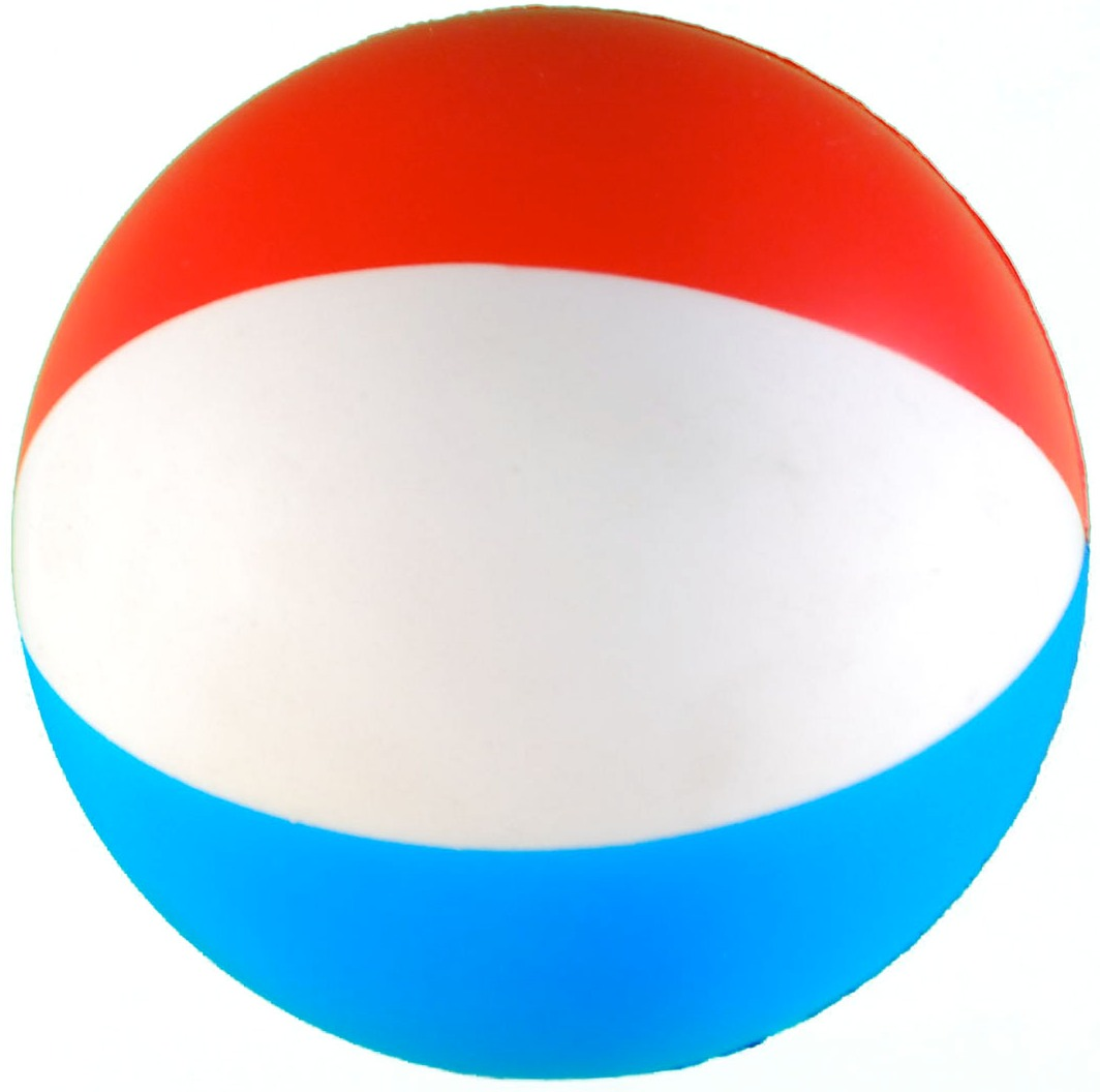 hight resolution of beach ball squeezie stress reliever custom printed beach ball