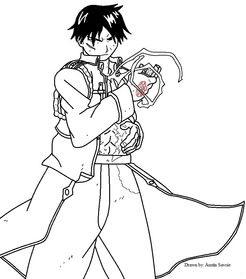 Flame Alchemist Roy Mustang by TheAnimefreak69 on Clipart