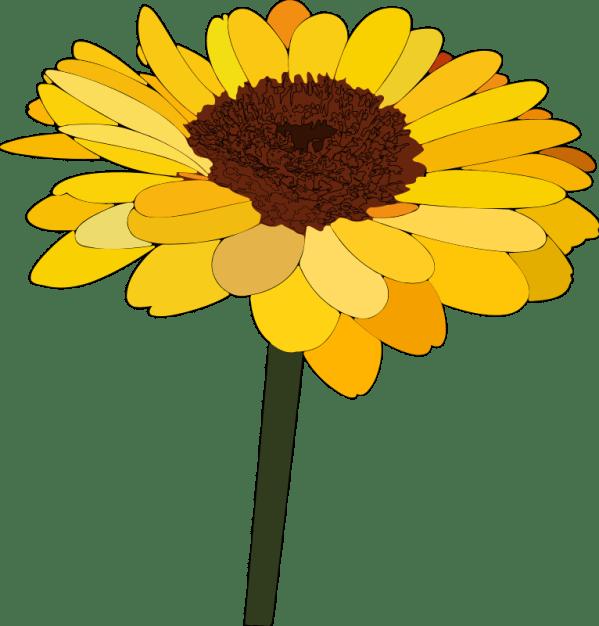 vintage sunflower t-shirt - project