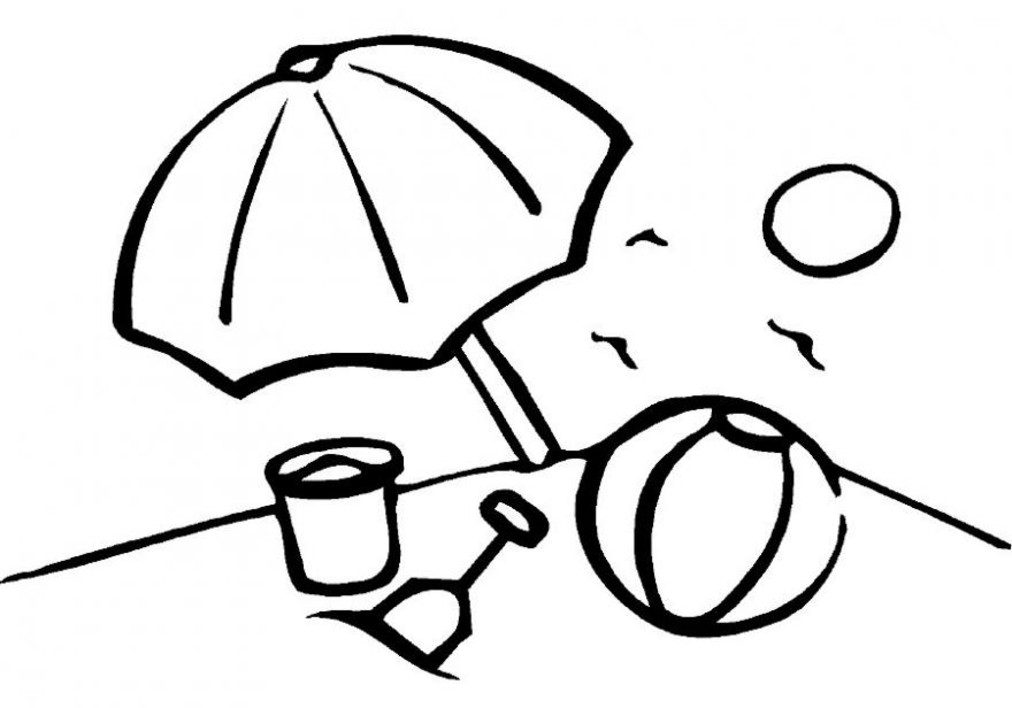 Free Beach Ball Coloring Pages, Download Free Clip Art