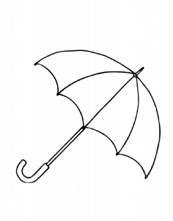 Free Printable Umbrella Template, Download Free Clip Art