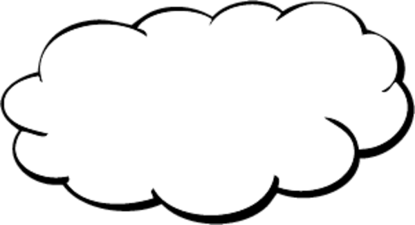 free cloud outline