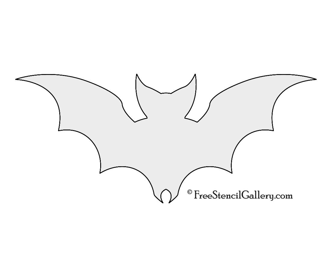 Free Bat Stencil Download Free Clip Art Free Clip Art On