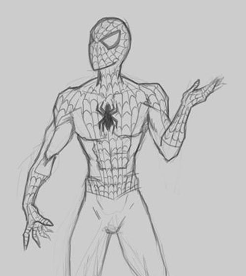 Cool Marvel Drawings Easy
