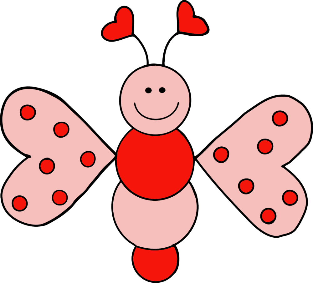 medium resolution of granny goes to school love bugs freebie clip art